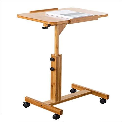 ZhuFengshop Verstelbare hoogte val, afneembaar nachtkastje, laptoptafel, bureau, eenvoudige klap, tafeltje, klaptafel