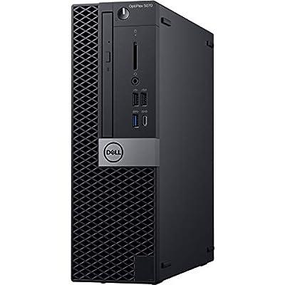 Dell OptiPlex 5070 Desktop Computer - Intel Core i5-9500 - 8GB RAM - 256GB SSD - Small Form Factor