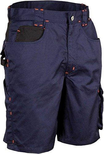 COFRA Arbeitsshort Workwear Tile in Mehreren Farben (54, Navy-schwarz)