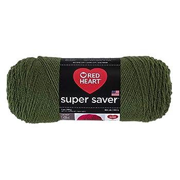 Red Heart Yarn Red Heart Super Saver Yarn Thyme Each 406 Medium Thym