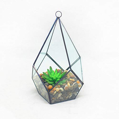 Planta terrario, Moderna Rregular Prisma Colgantes terrario de Cristal de los decoros...