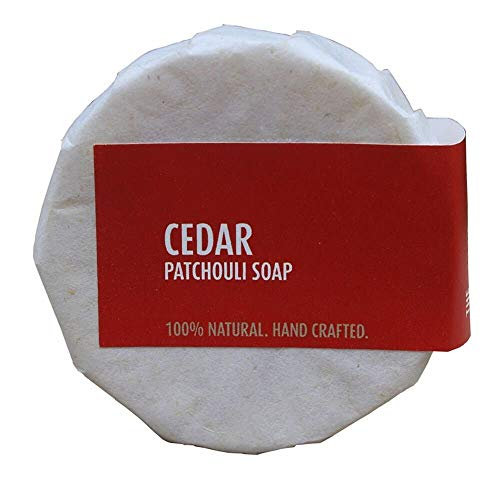 Coconess Cedar Patchouli Soap | 100% Natural | Hand Crafted.