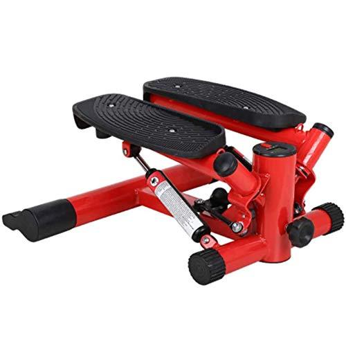 Laufband-Maschine für Zuhause, Fitness-Treppenschritt, Mini-Luft-Kletterer Twist-Treppen-Stepper für Übungsmaschine mit Widerstandsband und LCD-Anzeige für Büro-Haushaltsgymnastik-Indoor-Sport Xiao123