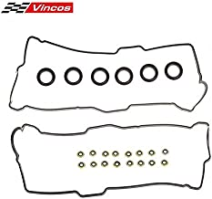Cylinder Valve Cover Gasket KIT with 6 pcs Spark Plug Tube Seals & 16pcs Grommets Replacement For TOYOTA 4RUNNER 3.4L 3378CC V6 96-02 VC203 VS50422R