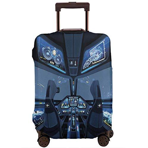 Maleta de viaje Protector de espacio exterior Transbordador de cabina cabina de vuelo Cubierta de equipaje de viaje Funda protectora Maleta elástica Protector para equipaje de 18 a 21 pulgadas