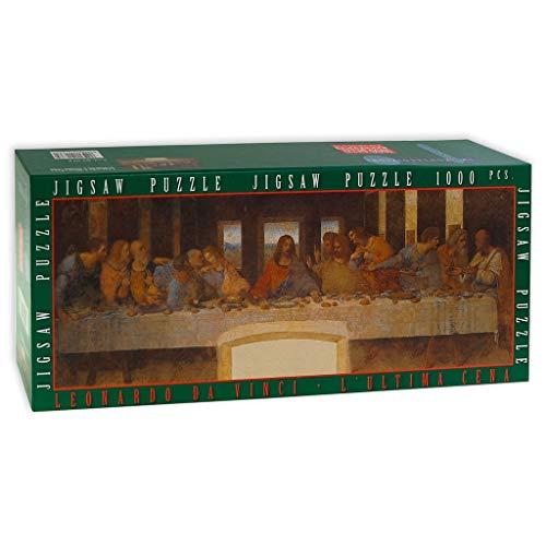 IMPRONTEEDIZIONI L'Ultima Cena, Leonardo da Vinci, 97x 34 cm - Puzzle 1000 Pezzi