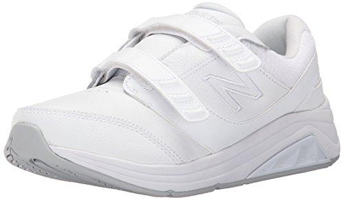 New Balance Women's 928 V2 Walking Shoe, White, 7 D US