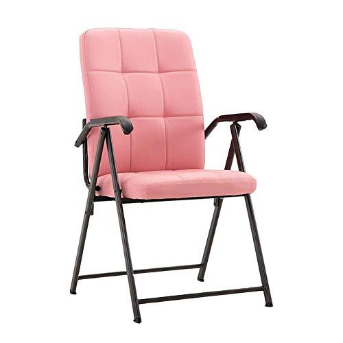 Jieer-C vrijetijdsstoelen, comfortabel, zacht, klapstoel, bureaustoel, polyurethaan, bekleed, conferentie, eetkamer, robuuste zitting T2