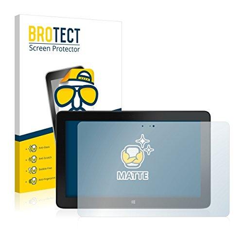 2X BROTECT Matt Bildschirmschutz Schutzfolie für Dell Venue 11 Pro 7140 (2013-2014) (matt - entspiegelt, Kratzfest, schmutzabweisend)