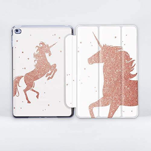 ZizzStore Star Unicorn iPad Case with Magnetic Smart Cover for Apple iPad Plastic Protective Lightweight Art Design for (iPad Mini/Mini 2 / Mini 3)