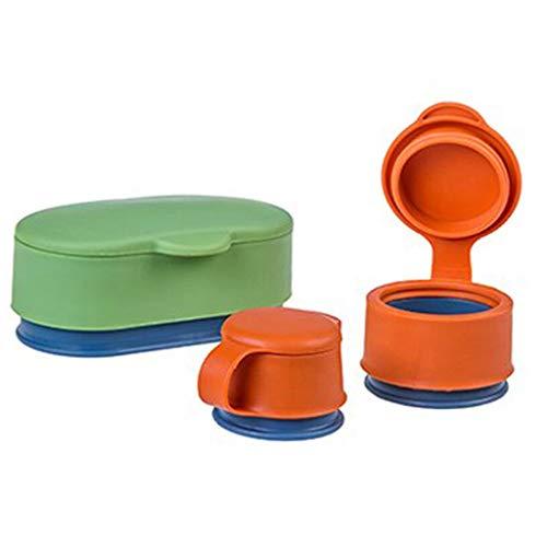 WT-DDJJK Sellador de bocadillos, 3Pcs / Set Almacenamiento de Alimentos Sellador de bocadillos Portátil Mini Bolsa de Mantenimiento Fresco Cubierta de Sellado