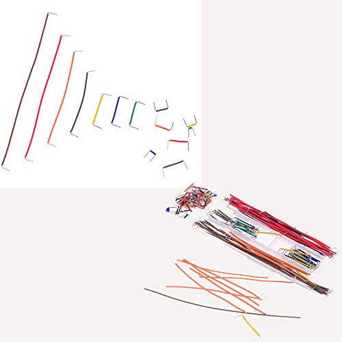 140Pcs/Lot U Shape Shield Solderless Breadboard Jumper Cable Wires Kit for Arduino Best Quality 16.5cmx5.5cmx1.5cm
