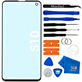 MMOBIEL Front Glass Repair kit Compatible with Samsung Galaxy S10 G973F/DS / G973U / G973W 6.1 inch (Black)