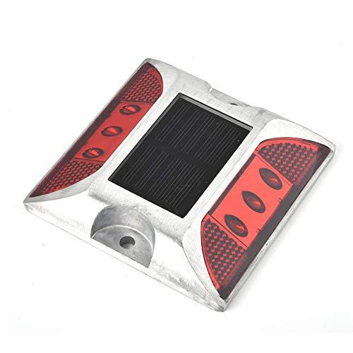 Gaeirt Construcción de Aluminio Fundido Luces de Entrada de Auto Luces de señalización de Tierra de energía Solar Estable, para Entrada de Auto, para vehículos Principales y peatones
