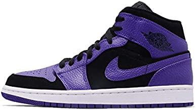 Nike Mens Air Jordan 1 Mid Basketball Shoe (8.5)
