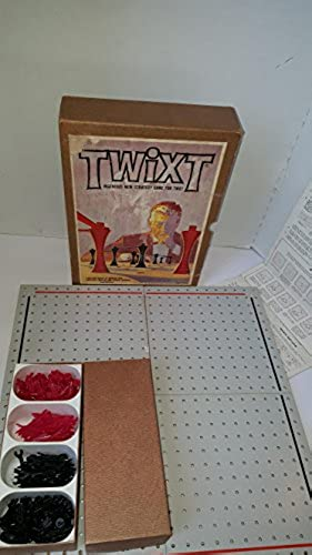 TWIXT. Ingenious New Strategy Game For Two. (1962) by 3M Bookshelf Game