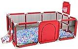 lijunjp Parc pour bébé, Espace de Jeu intérieur pour Enfants en Plein air, Apprendre à Marcher, Centre de Jeux de réflexion, barrière de sécurité Anti-Collision, pour Enfants de 6 à 36 Mois