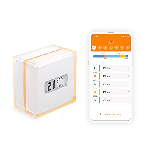 Photo de thermostat-connecte-netatmo-compatible-fioul-gaz-bois