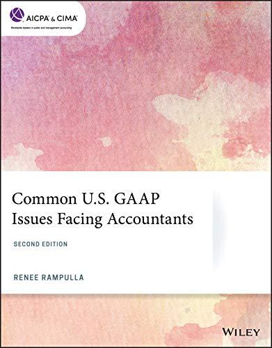 Common U.S. GAAP Issues Facing Accountants, 2nd Edition (AICPA, Band 19)