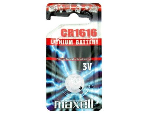 "Oferta de Maxell cr - Pilas (nickel - oxyhydroxide (niox), 3v, 55 mah, 1,6 cm, 1,6 cm, 1,6 mm (0.063""))"