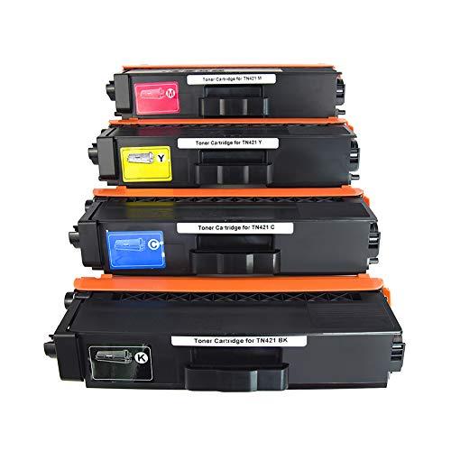 CYMBAINK 4 tóneres XL TN421 TN423 para Brother HL-L8260CDW HL-L8360CDW HL-L9310CDW MFC-L8610CDW MFC-L8900CDW MFC-L8690CDW MFC-L9570CDW