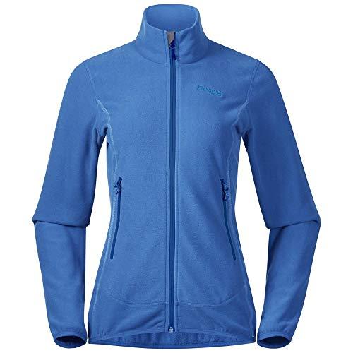 Bergans Damen Lovund Fleece Jacke, cloudblue-athensblue, XL