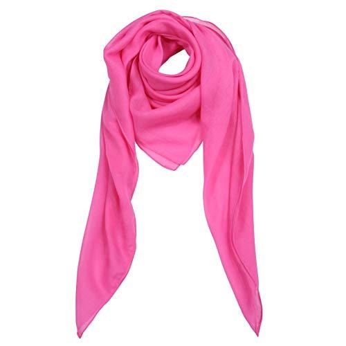 Superfreak Baumwolltuch - pink - quadratisches Tuch