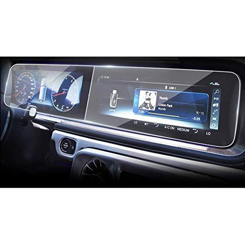 HKPKYK Accesorios Adhesivos de película Protectora de Pantalla de Monitor de salpicadero de navegación para Coche, para Mercedes-Benz G500 / G63 / G350 W463 2019 2020