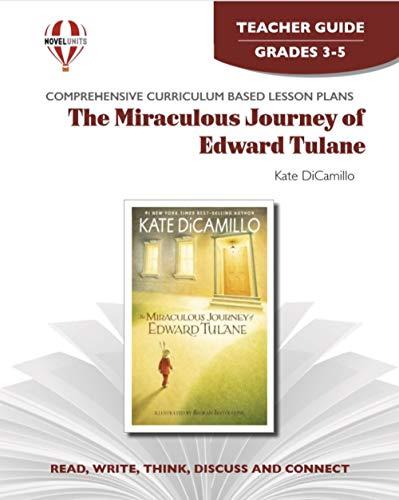 Miraculous Journey of Edward Tulane - Teacher Guide by Novel Units