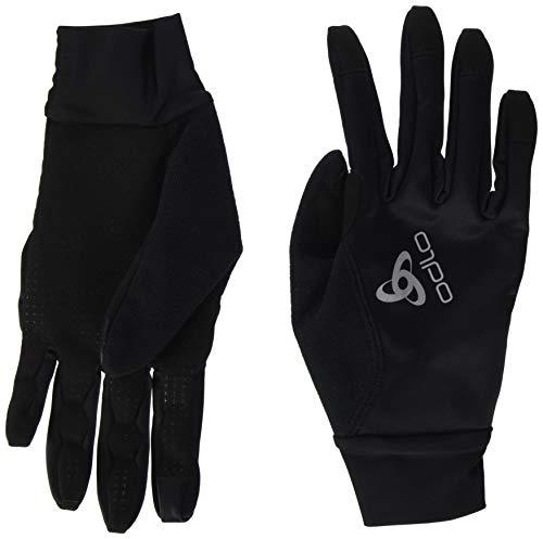 Odlo Zeroweight Gants Noir FR : 2XL (Taille Fabricant : XXL)