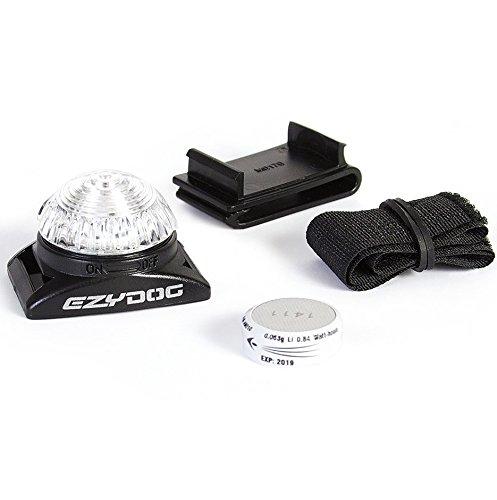 EzyDog Adventure Licht für Hund Halsband und Hundegeschirr