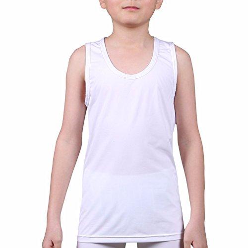 Henri maurice Kids Compressie Tank Top Ondergoed Jongens Jeugd Basislaag Mouwloos Shirt RK
