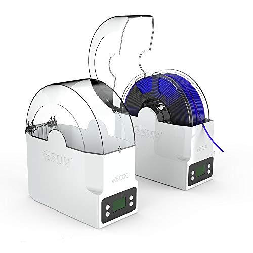 aibecy esun ebox Impresión 3d filamento Caja Soporte para almacenar Mantener filamento seco Medición filamento Peso