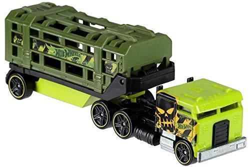 Hot Wheels BFM60 Track, Diecast Truck and Mini C