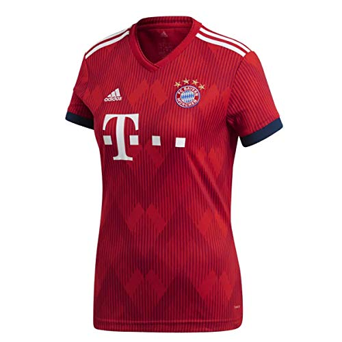 adidas FC Bayern Home Women's Soccer Jersey - 2018/19 Red (S)