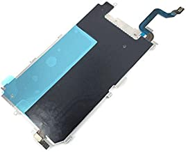 HKCB Screen LCD Back Metal Plate Shield with Home Button Expand Flex Cable for IPhone 6 (4.7'')