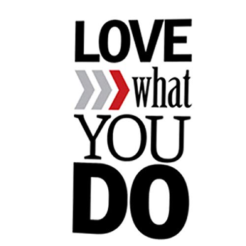 Jphozup Do What You Love Love What You Do Motivational 40x50cm no Frame Canvas Prints Large Poster Canvas Painting Canvas Wall Art Sets Bedroom