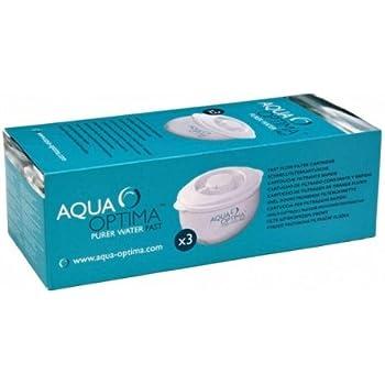 Aqua Optima Filtros de Agua para 60 días, 1 año: Amazon.es: Hogar