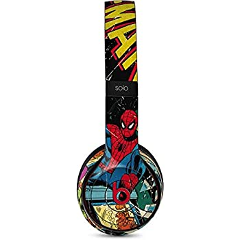 Skinit Decal Audio Skin for Beats Solo 2 Wireless - Officially Licensed Marvel/Disney Marvel Comics Spiderman Design