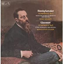 Rimsky-Korsakov - Symphony No.1 / Glazounov