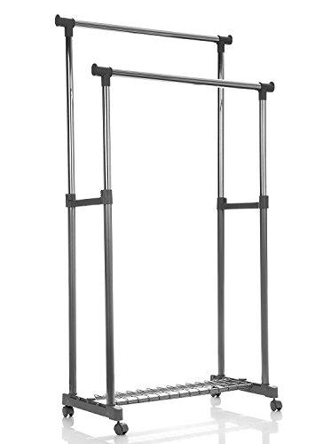 Compactor, Alex Portant vêtements gris, 83,5 x 44 x H 160 cm, RAN2530