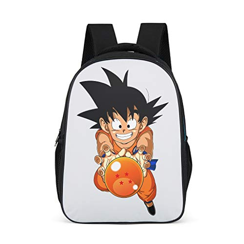 Anime Niño hijo Goku Drachenbälle Manga Kunstwerk presión mochila japonesa Goku Mind...