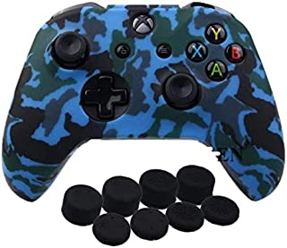 Printing Silicone Cover Skin Case for Xbox One /S Controller With PRO Thumb Grips x 8