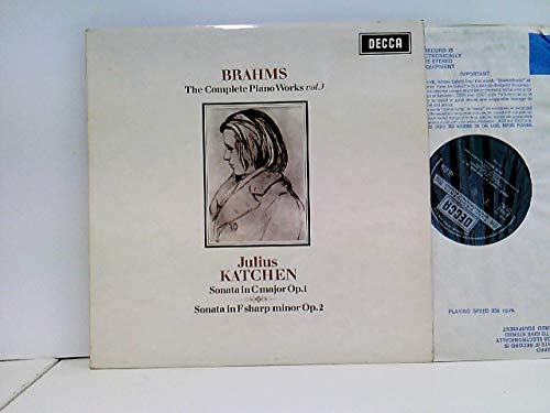 Johannes Brahms , Julius Katchen - The Complete Piano Works Vol. 7 - Decca - SXL 6218, Decca - SXL.6218