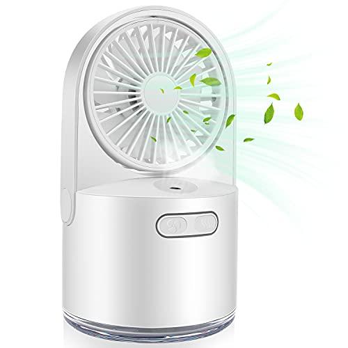 Ventilatore da tavolo, ultra silenzioso, climatizzatore mobile, Air Cooler Mini,mini climatizzatore d aria, regolabile in 3 posizioni, adatto per camera da letto, soggiorno, cameretta dei bambini