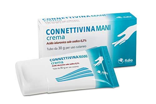 Fidia Farmaceutici Connettivinamani Crema   Tubo Da 30G   A Base Di Acido Ialuronico Sale Sodico 0,2%,