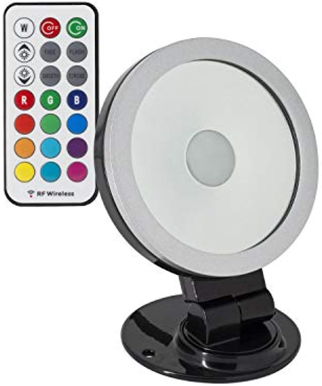 LEDKIA LED Strahler Ausrichtbar 360o RGB 20W Schwarz RGB