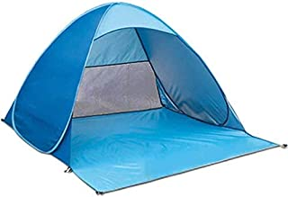 Outdoor Beach Tent Set Double Automatic Pop Up Camping Tents Foldable Sunshade Portable Lightweight Waterproof with Bag