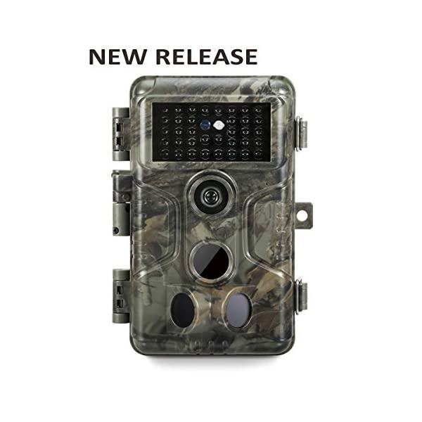 GardePro A3 Wildlife Trail Camera, 20MP, H.264 HD 1080P, Upgraded Infrared Night Vision, Ultra-fast 0.1s Trigger Speed Motion Activated, Waterproof for Game, Trap, Outdoor and Home Security
