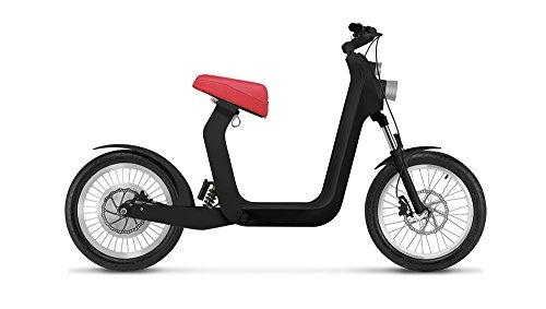 Xkuty One NEGRA 100 km de autonomia, vel. max. 45 km/h (Rojo)